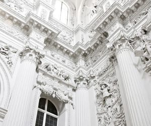 white, architecture, and wallpaper image
