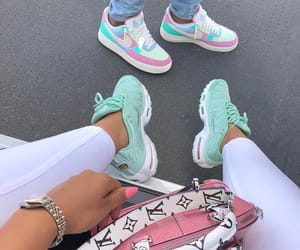 body, fashion, and sneakers image