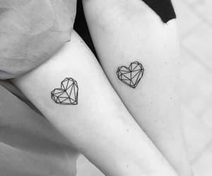 tattoo, heart, and alternative image