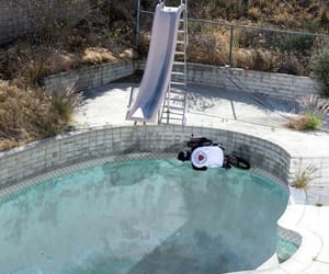 bmx, france, and swimming pool image