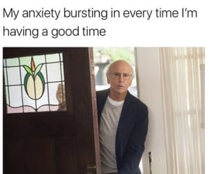 anxiety and meme image
