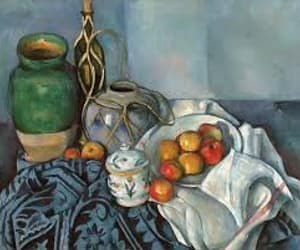 art, cezanne, and painting image