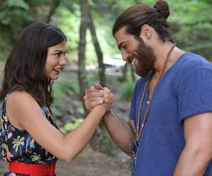 love, demet ozdemir, and can yaman image