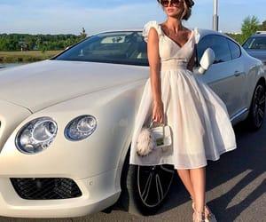 fashion, white, and car image