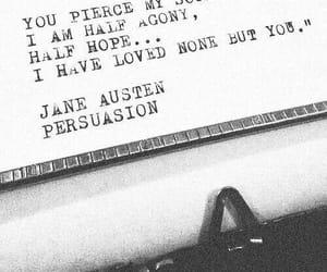 love, Persuasion, and jane austen image