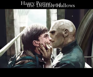 deathly hallows, harry potter, and tom riddle image