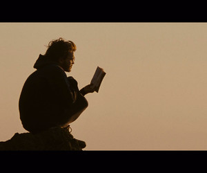 into the wild, book, and man image