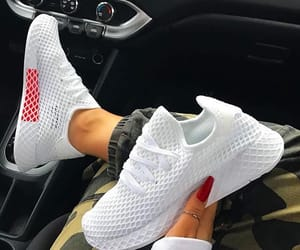 adidas, sneakers, and nails image