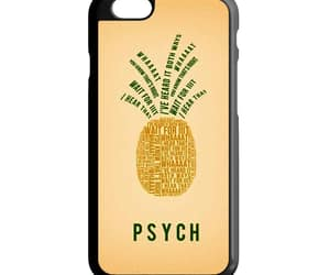 phone cases, iphone 6 6s case, and psych pinapple quotes image