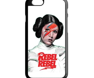 phone cases, iphone 6 6s case, and rebel rebel princess leia image