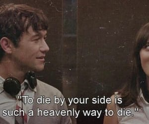 500 Days of Summer, quotes, and die image