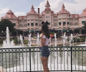 disneyland, girl, and paris image