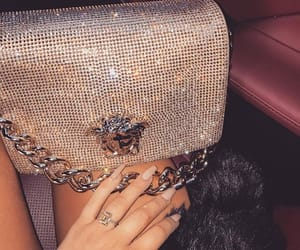 luxury, Versace, and purse image