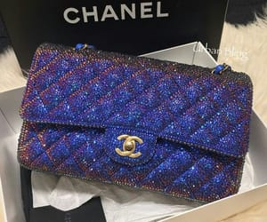 bag, chanel, and glitter image