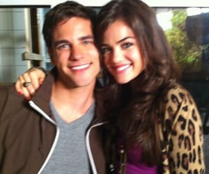 model, lucy hale, and pretty little liars image