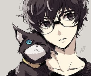 persona 5, handsome, and anime boy image