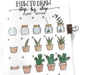 drawing, plants, and draw image