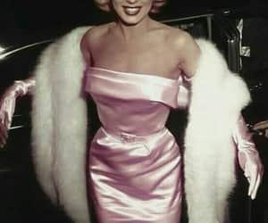 Marilyn Monroe, dress, and vintage image