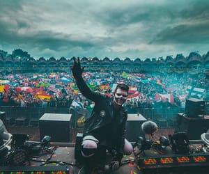 concert, dj, and dreamland image