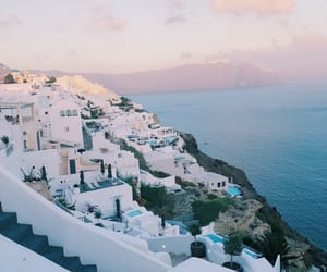 Greece, ocean, and pretty image