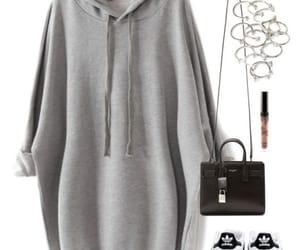 adidas, bag, and cinza image
