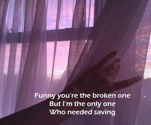 broken, Lyrics, and quote image