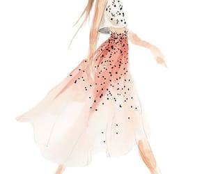 drawing, dress, and art image