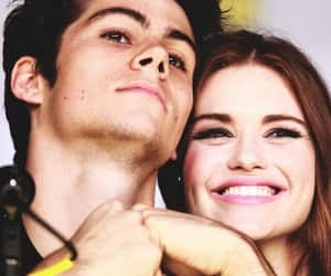 lydia, holland roden, and dylan o´brien image