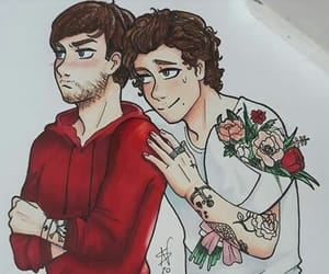 fan art, gay, and Harry Styles image