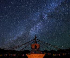 arquitectura, cielo, and estrellas image