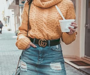 fashion style outfit, beautiful hot queen, and chic classic trend image