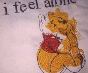 childhood, loneliness, and winnie the pooh image