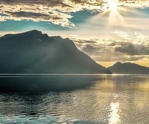 nature, sun, and landscape image