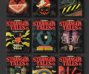 stranger things and poster image