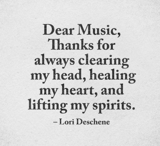 Best Music Quotes Discovered By Deniz Yalim On We Heart It