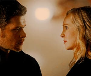 couple, mikaelson, and gif image