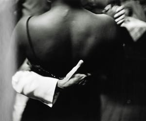 dance, couple, and black and white image
