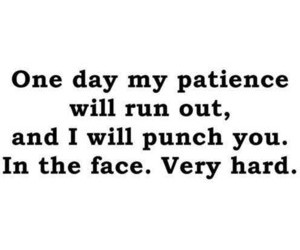 punch, quote, and patience image
