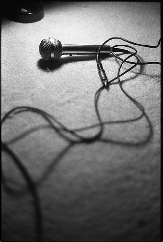 cable, microphone, and music image