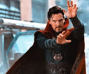 doctor strange, Avengers, and Marvel image