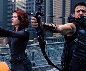 hawkeye, black widow, and the avengers image