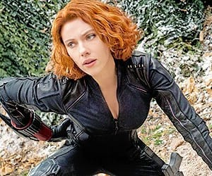 aesthetic, Avengers, and black widow image