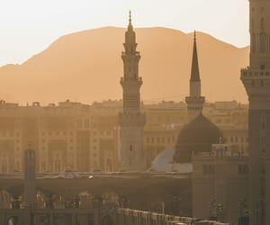islamic, madina, and الله أكبر image