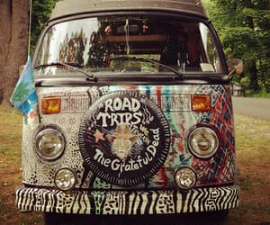 Image de hippie, car, and hipster