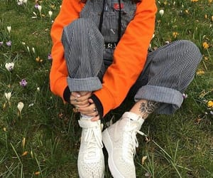 fashion, indie, and orange image