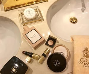 chanel, gucci, and beauty image