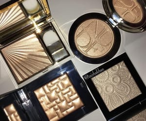 makeup, highlight, and beauty image