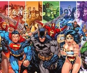justice league and dc comics image