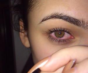 eyes, nails, and eyebrows image
