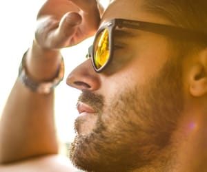 facial hair, essential oils, and hair care image
